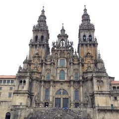 Photo taken at Catedral de Santiago de Compostela by Heitor F. on 8/14/2012