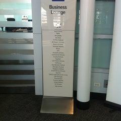 Photo taken at Scandinavian Airlines (SAS) Lounge by Jay (Jae Hun) M. on 2/26/2012