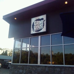 Photo taken at Grindhouse Killer Burgers by Anthony D. on 3/26/2012