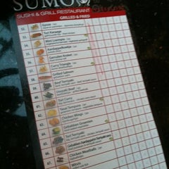 Photo taken at Sumo Sushi & Grill by Vianne S. on 3/31/2012