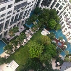 Photo taken at Siam Kempinski Hotel Bangkok by Vitaly S. on 3/18/2012