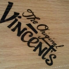 Photo taken at The Original Vincent's by Michael F. on 2/12/2012