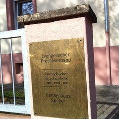 Photo taken at Verlagshaus Speyer by Alexander E. on 4/25/2012