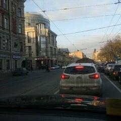 Photo taken at Рюмочная у Витебского вокзала by Natalie S. on 4/12/2012