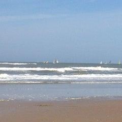 Photo taken at Strand Noordwijk aan Zee by Robert M. on 5/17/2012