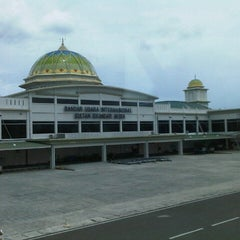 Photo taken at Sultan Iskandar Muda International Airport (BTJ) by Yudya G. on 9/12/2012