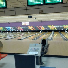 Photo taken at AMF Gulf Gate Lanes by Simply S. on 2/23/2012