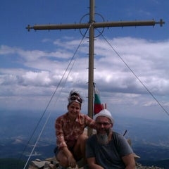 Photo taken at вр. Безбог, 2645м / Bezbog peak, 8677ft by Yordan R. on 8/18/2012