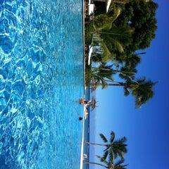 Photo taken at Sugar Beach Mauritius Hotel Resort & Spa by Daria A. on 5/1/2012