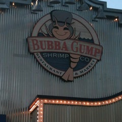Photo taken at Bubba Gump Shrimp Co by Phil W. on 5/31/2012