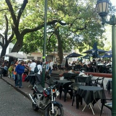 Photo taken at Plaza Dorrego by raul s. on 4/6/2012