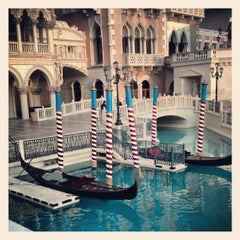 Photo taken at Venetian Canal by Jason F. on 4/10/2012