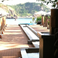 Photo taken at Life Wellness Resort Qui Nhon by Lee on 5/5/2012