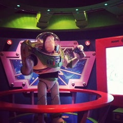 Photo taken at Buzz Lightyear Astro Blasters by Paul K. on 8/28/2012