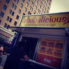 Photo taken at Kebabalicious by Joel G. on 7/12/2012