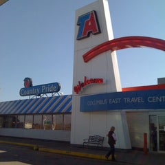 Photo taken at TravelCenters of America by Craig V. on 3/10/2012