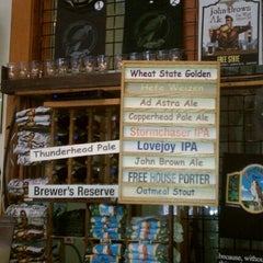 Photo taken at Free State Brewing Company by thyrsiger on 7/19/2012