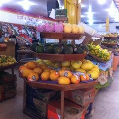 Photo taken at Mercado Municipal de Santo Amaro by Ana Paula C. on 6/23/2012