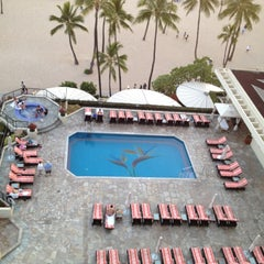Photo taken at Super Pool and Keiki Pool (Children's Pool) by Brad D. on 5/10/2012