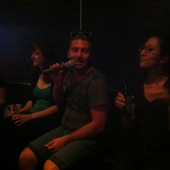 Photo taken at XO Karaoke Bar by Megan O. on 7/21/2012