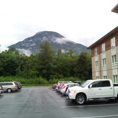 Photo taken at Sandman Hotel & Suites Squamish by Ron G. on 6/23/2012
