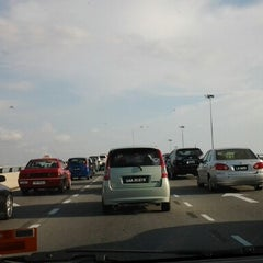 Photo taken at Flyover Petagas by Fitrizah L. on 8/9/2012