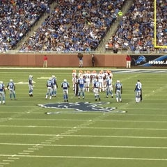 Photo taken at Ford Field by Harris on 8/11/2012