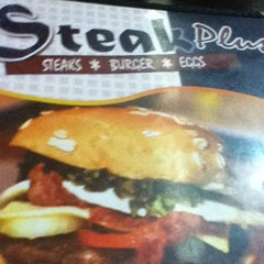 Photo taken at Steak Plus by Wes L. on 3/28/2012