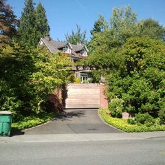 Photo taken at Kurt Cobain's House by Susan D. on 9/6/2012