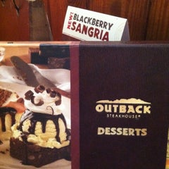 Photo taken at Outback Steakhouse by Becky S. on 6/8/2012