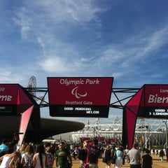 Photo taken at London 2012 Olympic Park by David W. on 9/6/2012