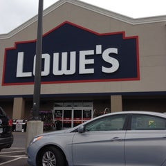 Photo taken at Lowe's Home Improvement by Kim M. on 5/24/2012