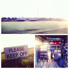 Photo taken at John Crain Field at the OU Soccer Complex by Chris W. on 7/10/2012