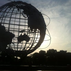 Photo taken at The Unisphere by Nate S. on 7/14/2012