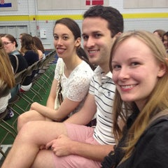 Photo taken at Indoor Track & Tennis Facility (ITT) - Smith College by Stephanie on 5/18/2012