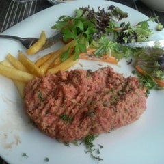 Photo taken at Le Deauville by Cindy D. on 8/4/2012