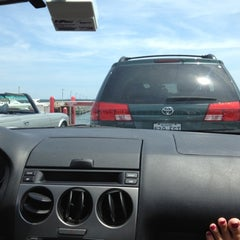 Photo taken at Shelter Island North Ferry - Greenport Terminal by mcasaverde on 7/5/2012