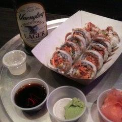 Photo taken at Rollbotto Sushi by kristi on 9/8/2012