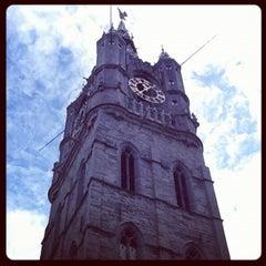 Photo taken at Belfort / Belfry by Jorge S. on 8/2/2012