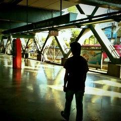 Photo taken at Metro Constitución de 1917 by Mr Silent on 4/7/2012