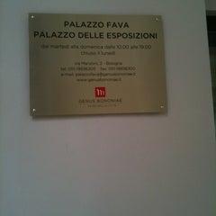 Photo taken at Palazzo Fava - Palazzo delle Esposizioni by Davide M. on 3/4/2012