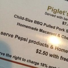 Photo taken at Barnstormer BBQ by Erin B. on 5/19/2012