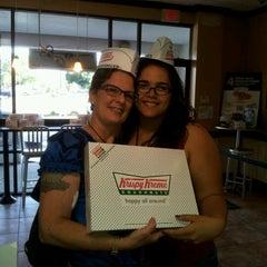 Photo taken at Krispy Kreme Doughnuts by Patti V. on 3/15/2012