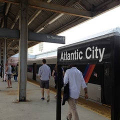 Photo taken at NJT - Atlantic City Terminal (ACRL) by Sebastian B. on 5/27/2012