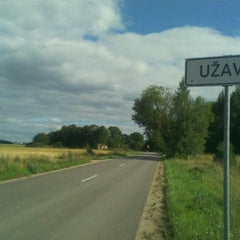 Photo taken at Užavas ciems by Baiba B. on 8/11/2012