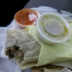 Photo taken at Robertos Taco Shop by Diane A. on 3/20/2012