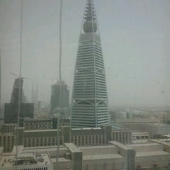 Photo taken at Al-Faisaliah Tower by Ramil D. on 6/24/2012