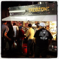 Photo taken at Taco Zone by T.J. P. on 7/22/2012