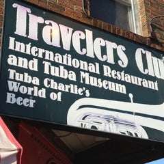 Photo taken at Travelers Club International Restaurant and Tuba Museum by Andrew on 7/1/2012