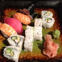 Photo taken at Sushi Avenue on the Square by David F. on 3/9/2012